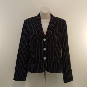 Ralph Lauren Black Striped Vintage Blazer